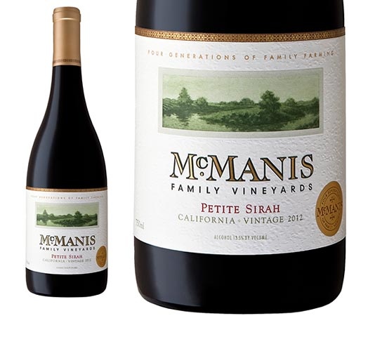 McManis Family Vineyards Petite Sirah